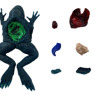Frog guts